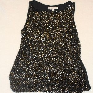 Tops - Ann Taylor Loft Sequined Top